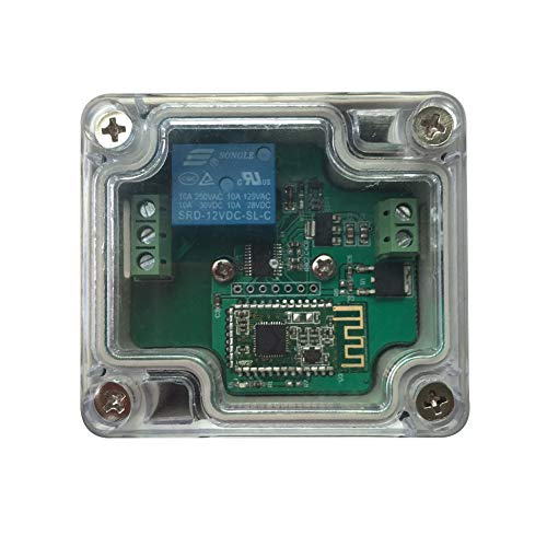 DSD TECH Bluetooth 4.0 Relay Module for Remote Control with a Protective housing (12V)