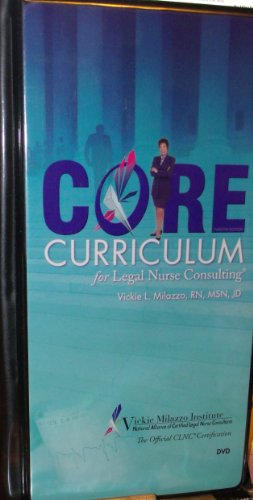 core-curriculum-for-legal-nurse-consulting-dvd-course-vickie-milazoo-rn-msn-jd-22-dvd-set
