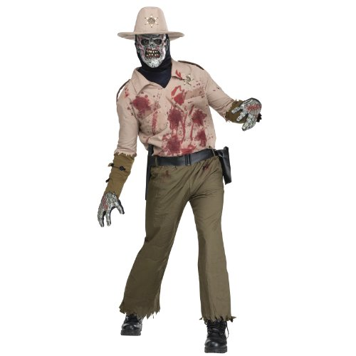 Mens Zombie Sheriff Costume -