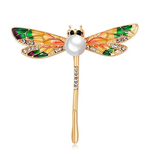 - Elegant dragonfly lapel pin brooch fashion jewelry accessories Delicate Gifts