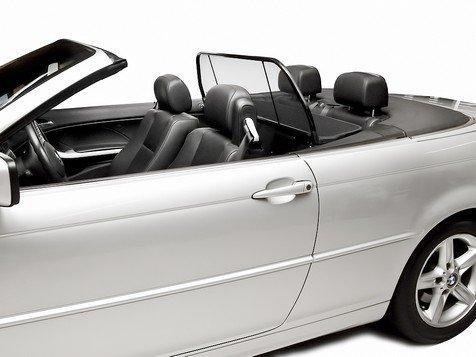 BMW Windstop for 3 Series (E46) 2000 Thru 2006, Love The Drive Wind Deflector, Wind Screen, Windstop, Wind Blocker, stopper