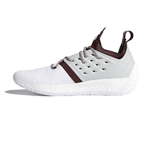 Adidas Sm Harden Vol. Adidas Sm Hærde Vol. 2 Mm Shoe Mænd Basketball Maroon-stone-Hvid 2 Mm Sko Mænds Basketball Maroon-sten-hvid rcnkeUuUr