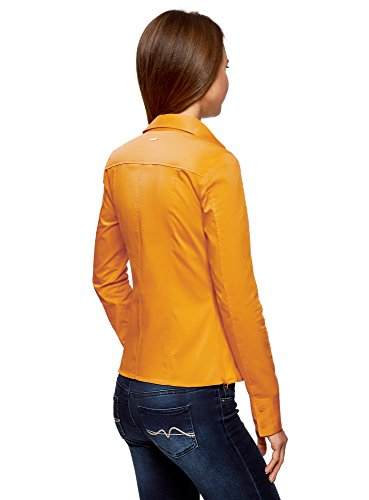 Cintre Coton en Jaune Coupe Chemisier 5200n Femme oodji Collection nIxYPP
