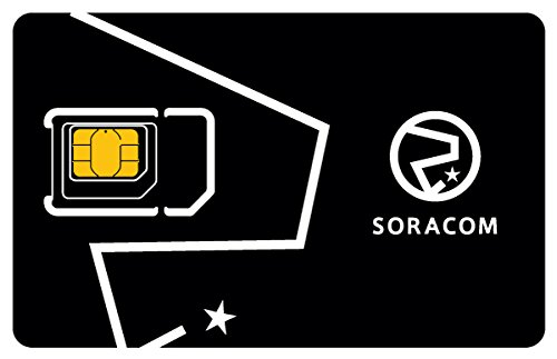 Soracom Air Global IoT SIM Card Secure Cellular Connectivity SIM Card for IoT M2M Projects Pay as You Go No Contract (1-Pack)