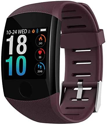 Ardorlove Fitness Tracker with Heart Rate Monitor Fitness Watch Activity Tracker 1.3 Inch Color Screen Pedometer Blood Pressure Monitor Sleep Monitor Waterproof Smart Watch for Men Women 2019 Version