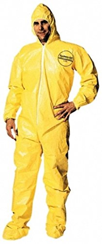 Dupont Yellow Chemical Protection Coveralls product image