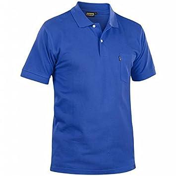 Blakläder 330510358500 M Polo-shirt talla M color azul: Amazon.es ...