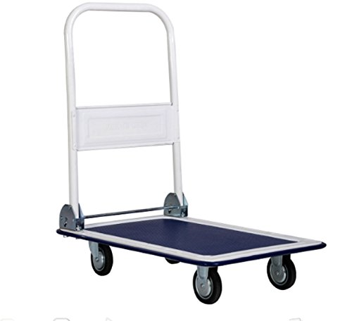 300lbs-cart-folding-wheels-luggage-heavy-compact-dolly-moving-hand-truck-blue