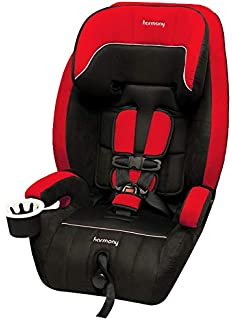 Harmony Defender 360 3 In 1 Deluxe Car Seat Black Red