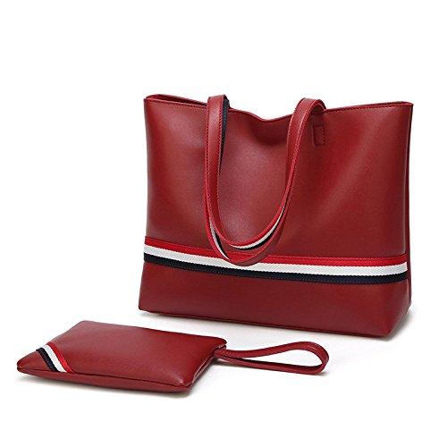 Sac simples monnaie pour à femme bandoulière Porte sauvage à Zllnsxkb d'embrayage Rouge main Sacs dFwPdz