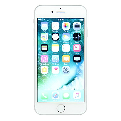 Apple iPhone 7 128GB Unlocked Phone for GSM Carriers – Silver (Certified Refurbished)