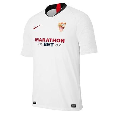Nike M Nk Dry Strke JSY SS Camiseta, Hombre, White/University Red ...