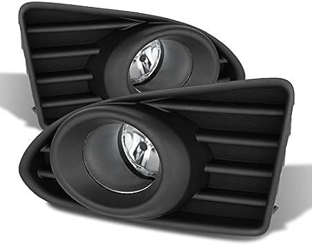 Amazon Com For 2012 2013 2014 2015 Scion Iq Black Bracket Clear Lens Bumper Driving Fog Light W Switch Bulb Automotive