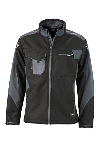 carbon Softshell Professionale Con Workwear Jacket Giacca Dotazione In nbsp; Softhell Qualità Black Di fCn7qdaw