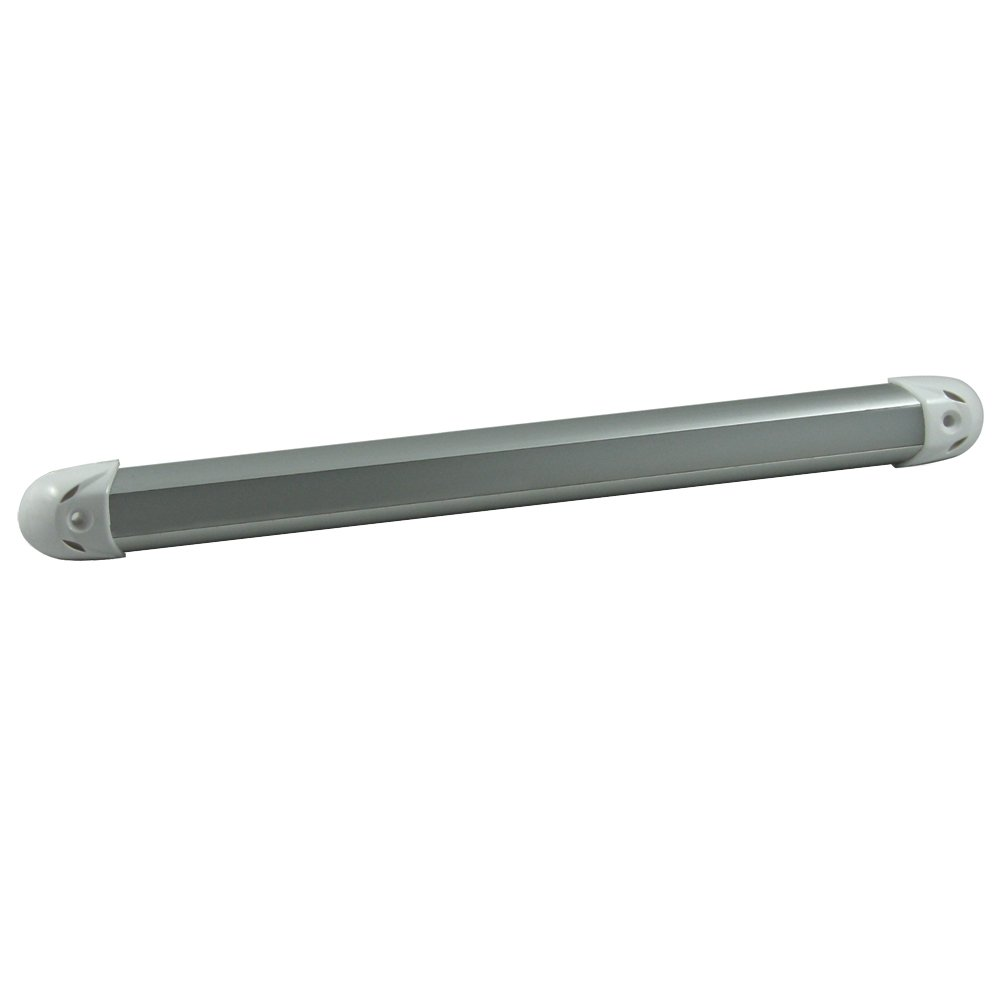 Lumitec 12-Inch Rail2 White/Blue Dimmable Output Light 101081