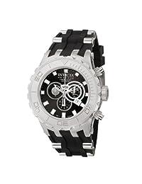Invicta 6903 Reserve Specialty Swiss Chronograph Black Polyurethane Men's Watch with 3 Black Slot Invicta Case