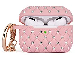 Airpods Accessories Bling TPU With Rhinestones Case