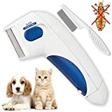 LiceComb Electric Pet Doctor for Flea Lice Treatment Eliminator Professional Flea Comb Remover Kit for Cats & Dog