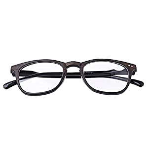 Allrise Unisex Reading Glasses, Wood Grain Presbyopic Eyeglass Spectacles 1.0 To 4.0 (BN+350)