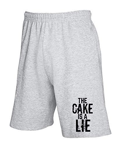 Lie Cake A T The Wes0317 shirtshock Is Grigio Tuta Pantaloncini SS6wAqzv