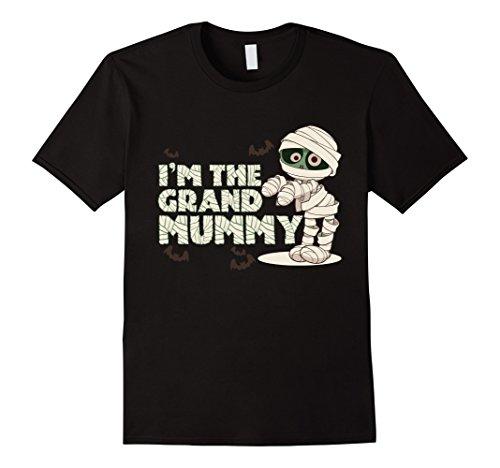 Simple Mime Costume For Men (Mens I'm The Grand Mummy T-shirt Grandmother Grandma 3XL Black)