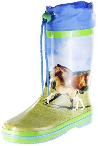ConWay Gummistiefel Grün Regenstiefel Kinder Stiefel Schuhe Fury Grün