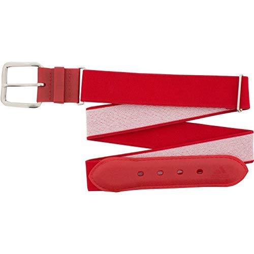 Adidas Adult Baseball Belt (Red, Adult)