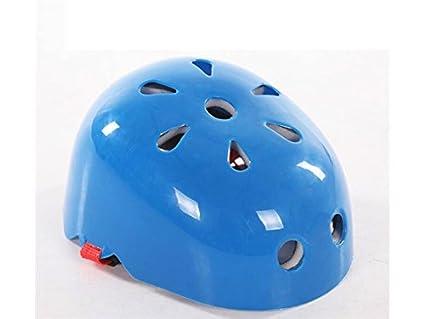 Blueqier Deportes Casco de Seguridad para Niños Casquillo de Disipación de Calor en Forma de Ciruela