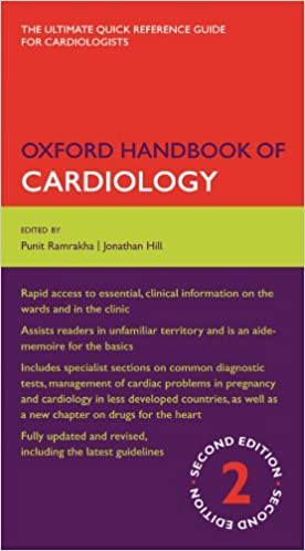 Amazon com: Oxford Handbook of Cardiology (Oxford Medical Handbooks