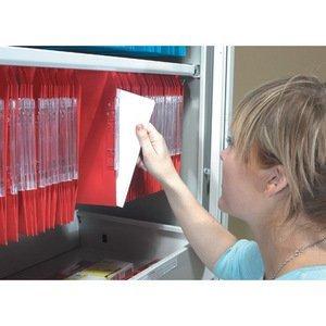 Bisley archivadores Lateral encaje de riel deslizante de armario gris ion de litio compatible con forma ovalada: Amazon.es: Oficina y papelería
