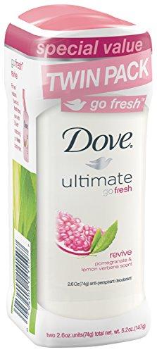 Dove go frais déodorant anti-transpirant, relancer 2.6 oz, Twin Pack