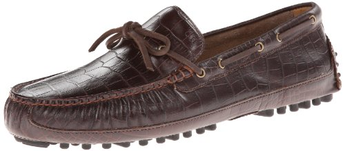 (Cole Haan Men's Grant Canoe Camp Moc Slip-On Loafer,Chestnut Croc Print,13 W US )