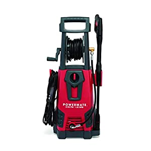 PowerMate Electric Power Washer – 2100 PSI, red, Black (G0088860)