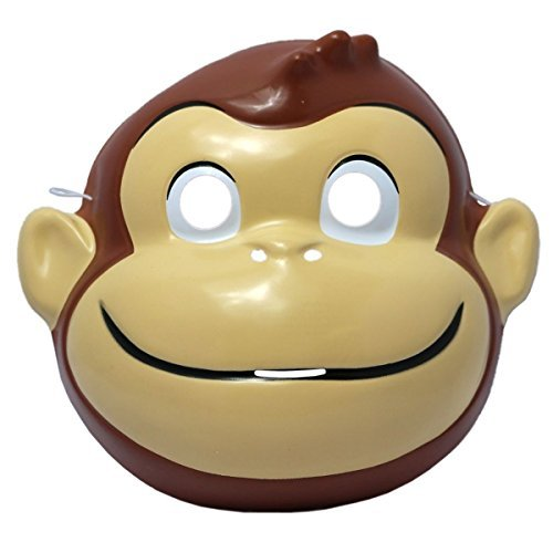 Curious George Mask Costume