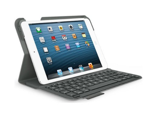 Logitech Ultrathin Keyboard Folio for iPad mini - Carbon Black by Logitech