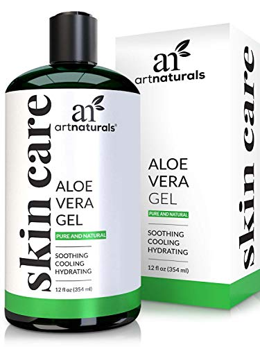 ArtNaturals Aloe Vera Gel - (12 Fl Oz / 355ml) - for Face,...