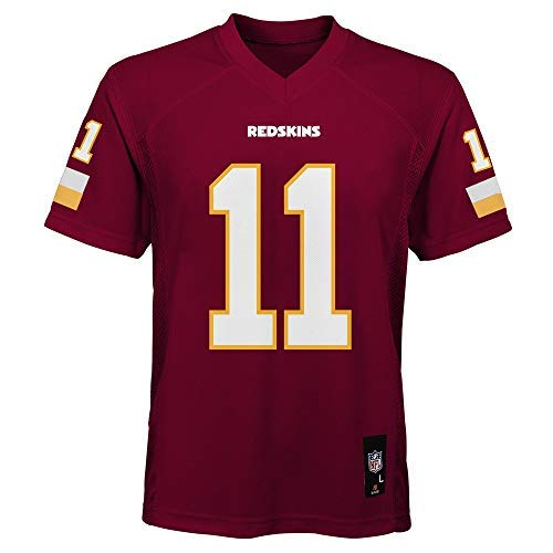 Outerstuff Alex Smith Washington Redskins NFL Youth 8-20 Red Home Mid-Tier Jersey (Youth Large 14-16)