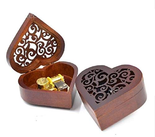 Box Music Trinket (Anakin.jerry Heart Wood Wind up Music Box : Once Upon a December (Soundtrack))