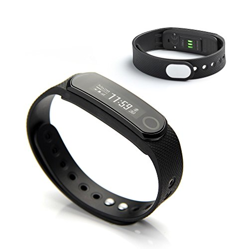 Amazon.com : Jarv Elite HR Heart Rate + Fitness Tracker with Sleep and Wrist-Based Heart Rate Monitor, Hi-Res OLED Display, Bluetooth Wireless Activity ...