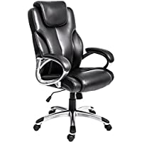 Merax High Back Executive Office Chair Black Ergonomic Computer Desk Chair