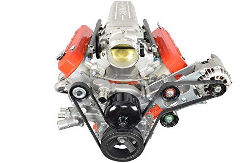 (LS Camaro Heavy Duty Billet Alternator Bracket Kit LSX LS1 5.7L Top Driver Head Mount 551566-2)