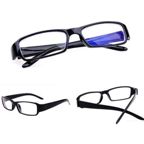 Unisex Comfy Nearsight Myopic Lens Glasses Black Muti Strength 1.5