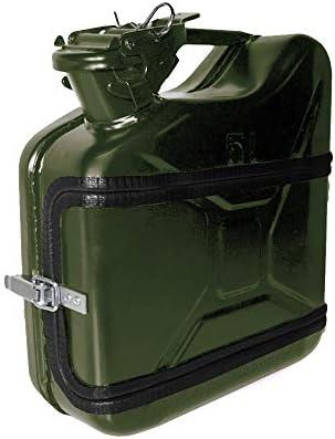 mikamax – Jerrycan Whiskey Bar 5L – Canister Minibar – Verde – 24.5 x 9.5 x 28 cm – Bar Mobil – Caja de Regalo – Bebidas Alcoholicas