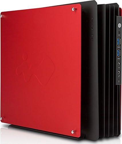 Caja de ordenador PC-WIN IN H-FRAME de Mini, color rojo-Caja Mini ...