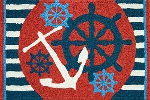Jellybean Anchors Aweigh Ships Wheel Nautical Sailing Area A