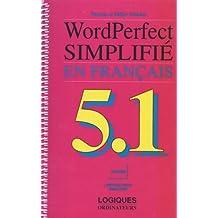 Wordperfect 5.1 dos simplifie