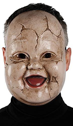(Mens Ladies Dead Broken Doll Baby Halloween Fancy Dress Costume Outfit)