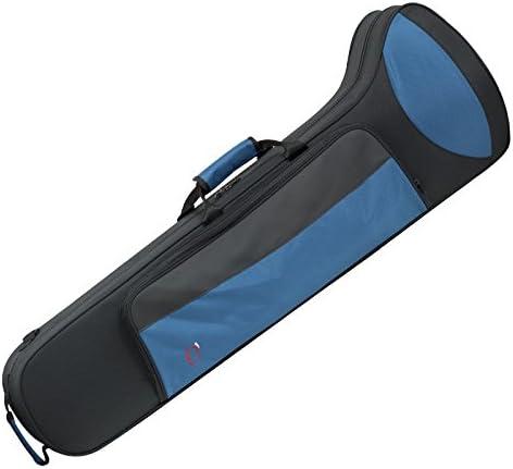 Ortola 8495 FSH - Estuche trombon tenor, color negro y azul: Amazon.es: Instrumentos musicales
