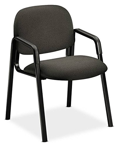 HON 4003AB12T Solutions Seating Leg Base Guest Arm Chair, Olefin, Gray ()