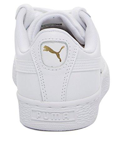 Puma Basket Classic Lfs, Herren Sneakers Weiß